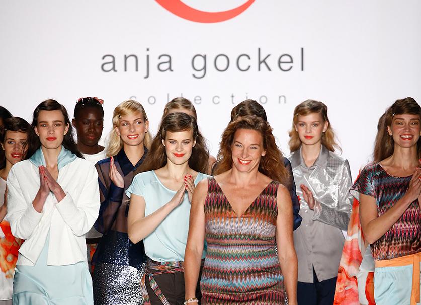 Anja Gockel Fashionshow Amelia Fashion Week Juli 2015 Titel