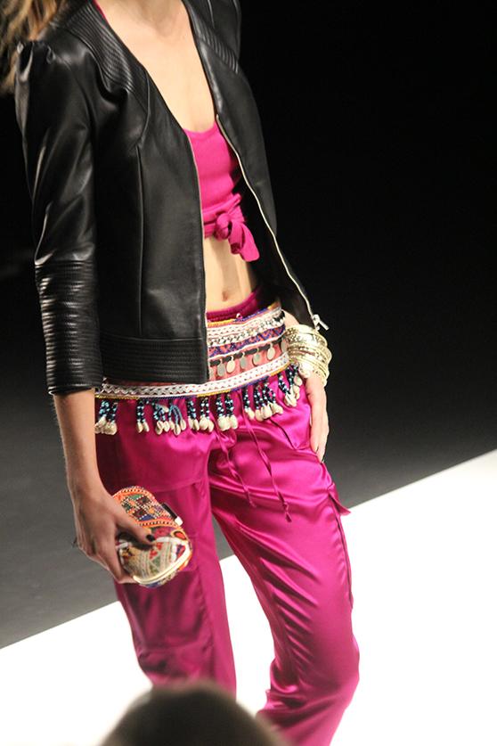 Dimitri Fashion Week Juli 2015 pinker Zweiteiler 11
