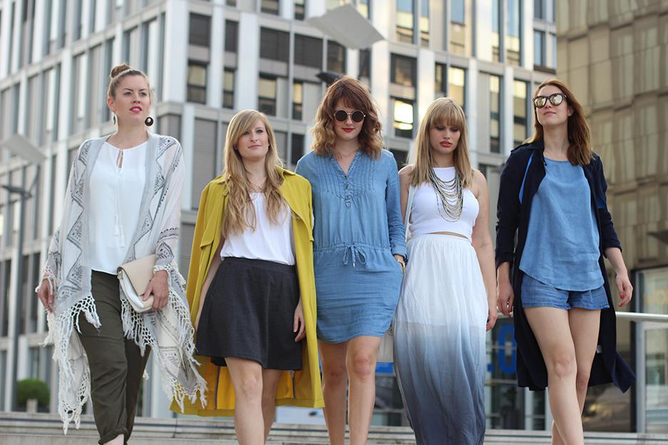 Kölner Modebloggerinnen Tom Tailor Frühling Sommer Kollektion