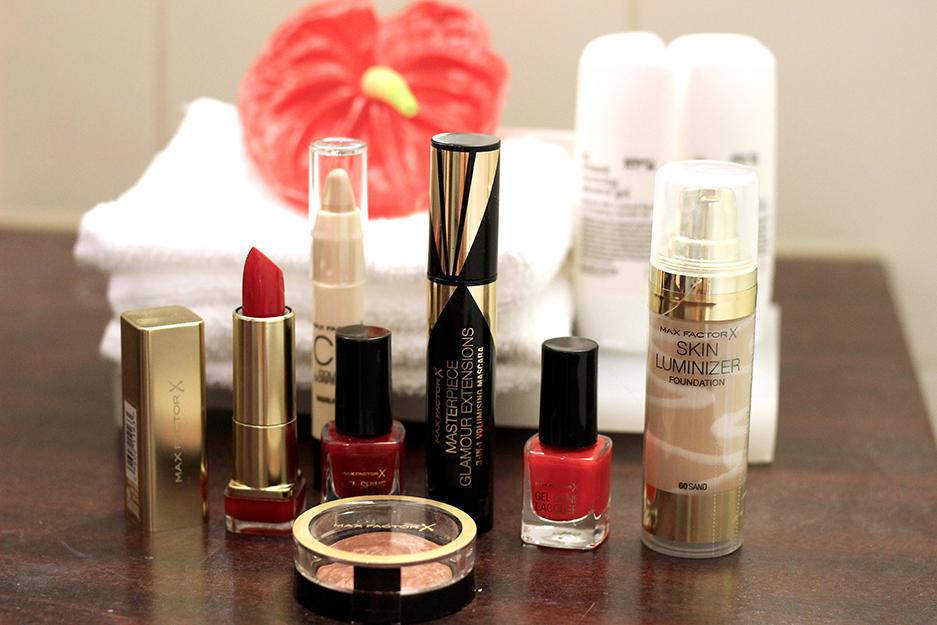 Max Factor Beauty Produkte Fashion Week Nagellack Lippenstift rot
