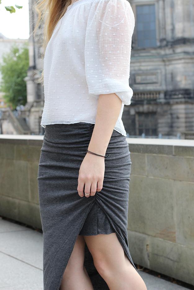 Ootd Berlin Streetstyle langer Rock Tunika Shirt 5