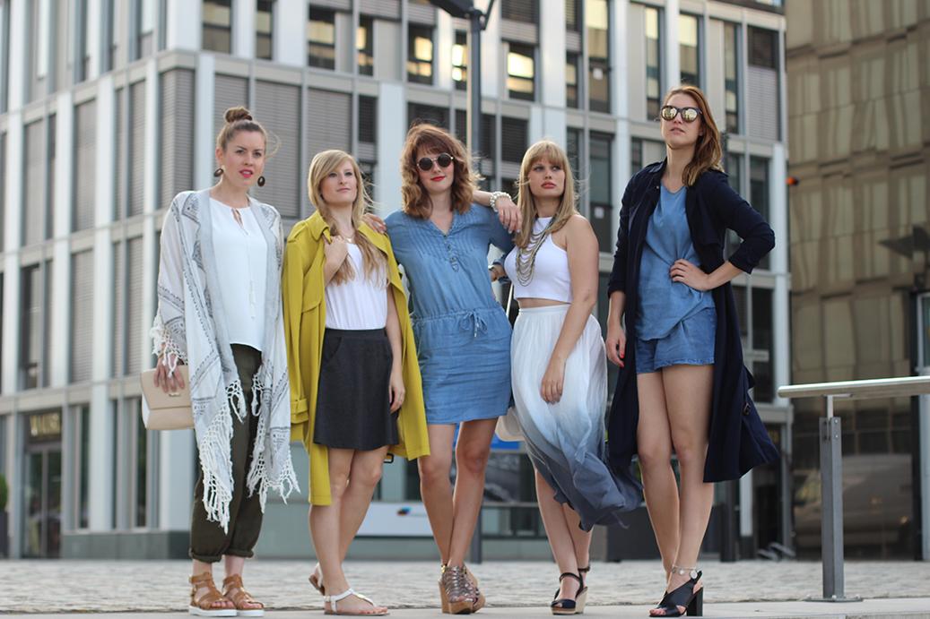 Titel Tom Tailor Shooting Kölner Blogger Mädels