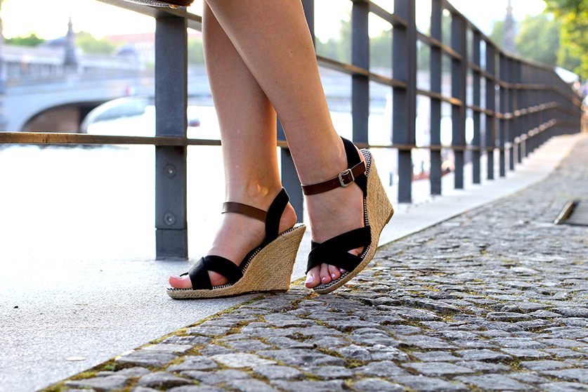 02 Fashionblog Köln Sandalen Wedges ootd blog