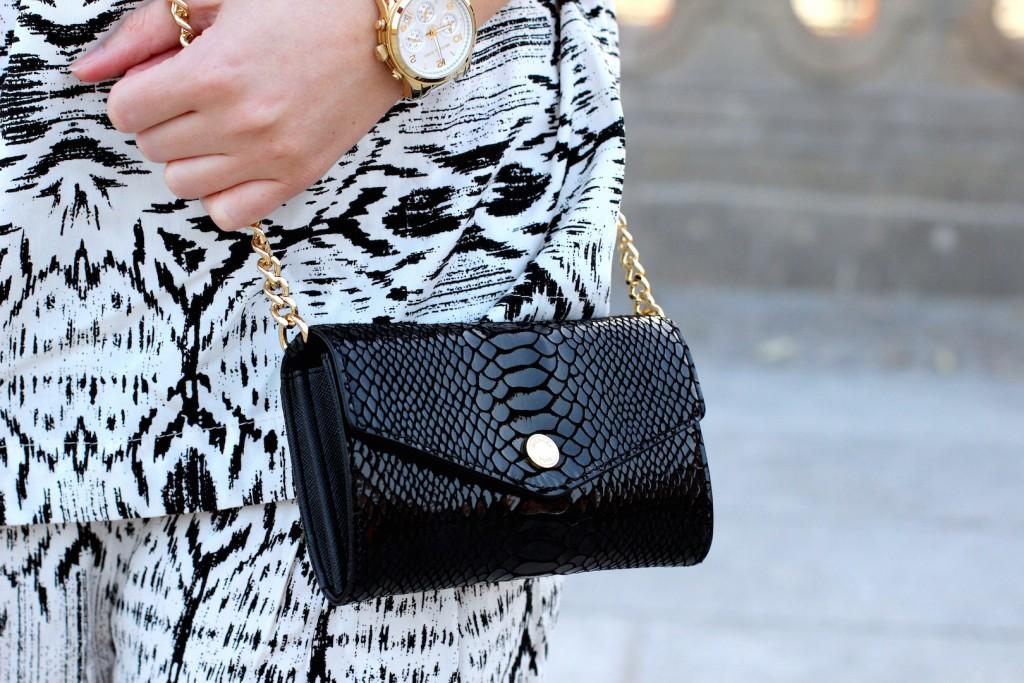 9 Modeblog Berlin Michael Kors Tasche schwarz gold