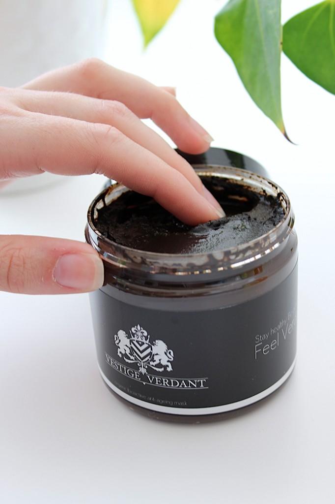 Organic Bioactive Gesichtsmaske Vestige Verdant testbericht Beauty Blog Köln