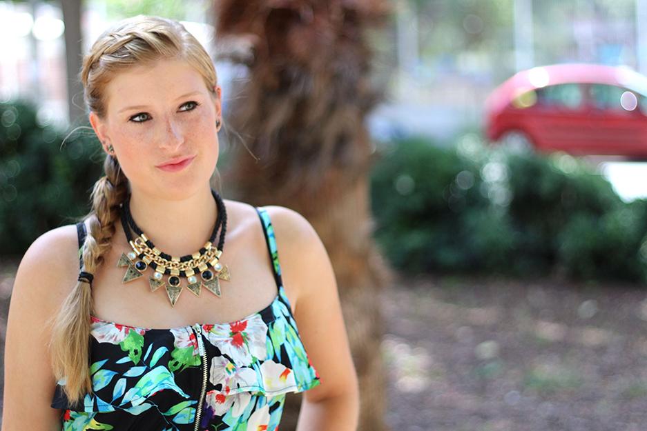 Sommerkleid Strandurlaub ootd blog cologne