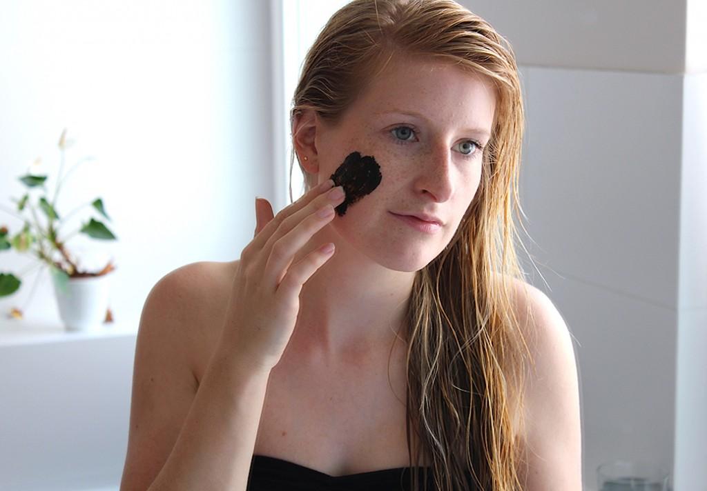 dunkle Gesichtsmaske Vestige Verdant testbericht Beauty Blog