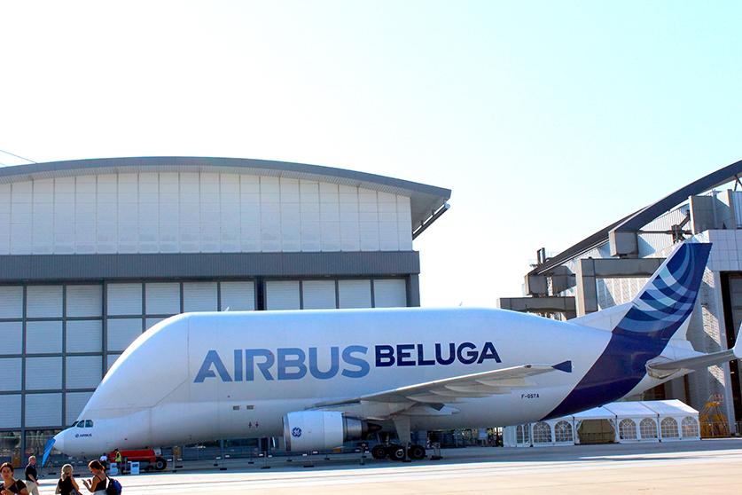 Airbus Beluga Hamburg Airport Days 2015 Flugzeug welovehh Insta Walk