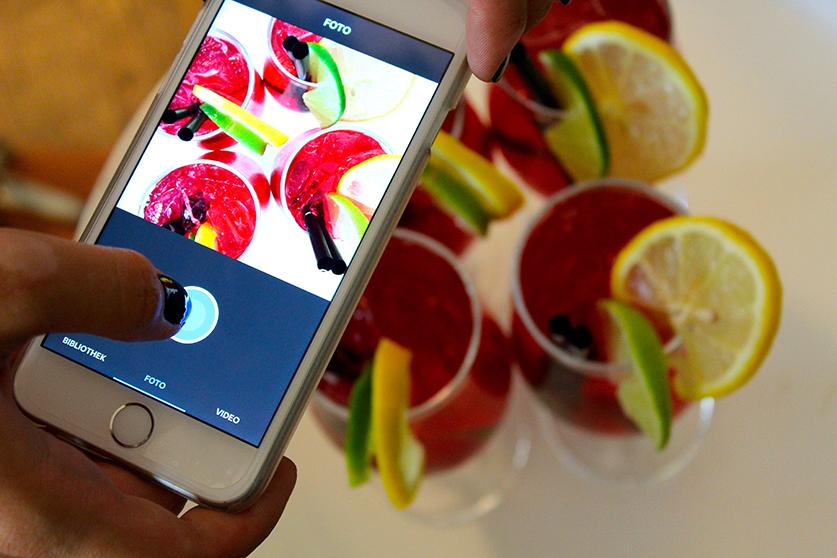 Filini Bar Cocktails Mode & Lifestyle Blog Hamburg iPhone 6