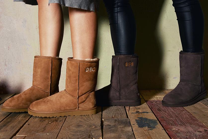 Gewinnspiel UGG Classic Boots Monogramm Fashion Blog