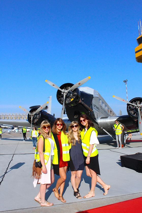 Hamburg Airport Days 2015 Flugzeug welovehh Fashion Blogger