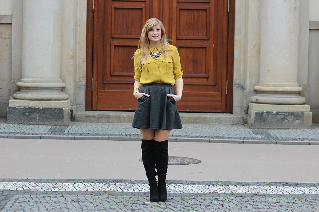 Herbsttrend 2015 Overknees Fashion Blog Deutschland