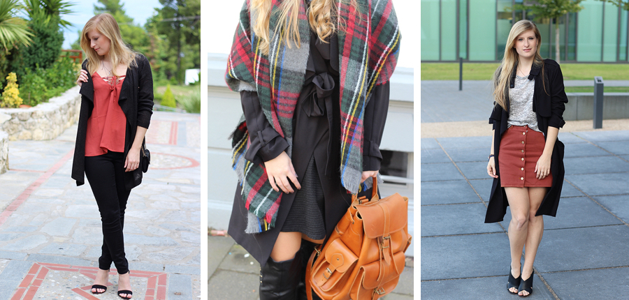 Herbstlooks aus dem September   Outfit Review