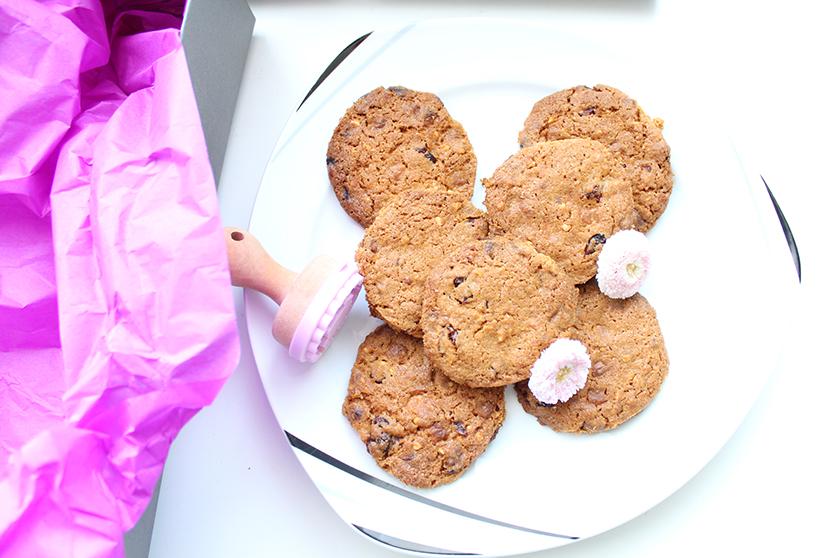 Omatag_Weiße_Schokolade_Cranberry_Cookies_Draufsicht_Kekse