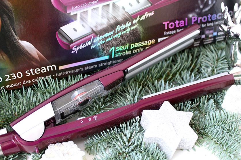 Beauty Blog Weihnachtsfrisur BaByliss Haarglätter iPro 230 Steam Hair Tutorial T