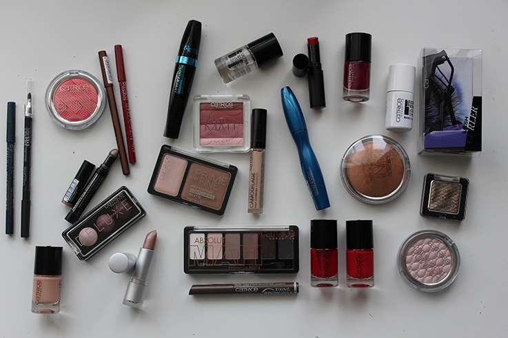 Catrice Adventskalender 2015 mit einem Catrice Weihnachts-Make-up