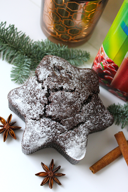 Cranberry Adventspunsch Rezept weihnachtlicher Mädelsabend Interior Glas Zimt Saft Sternkuchen 2