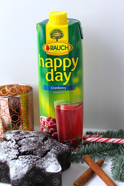 Cranberry Adventspunsch Rezept weihnachtlicher Mädelsabend Interior Glas Zimt Saft Sternkuchen