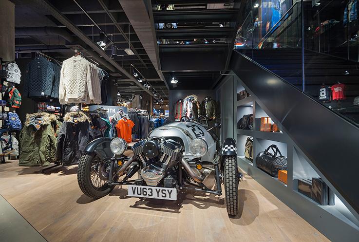 Fashion Blog Köln Cologne Superdry Store Eröffnung Store Opening Modeblogger Oldtimer Interior