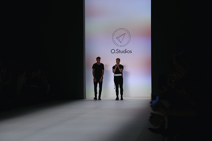 Backstage Fashion Week Berlin Januar 2016 MBFWB Odeur Fashion show Ecco Shoes Designer