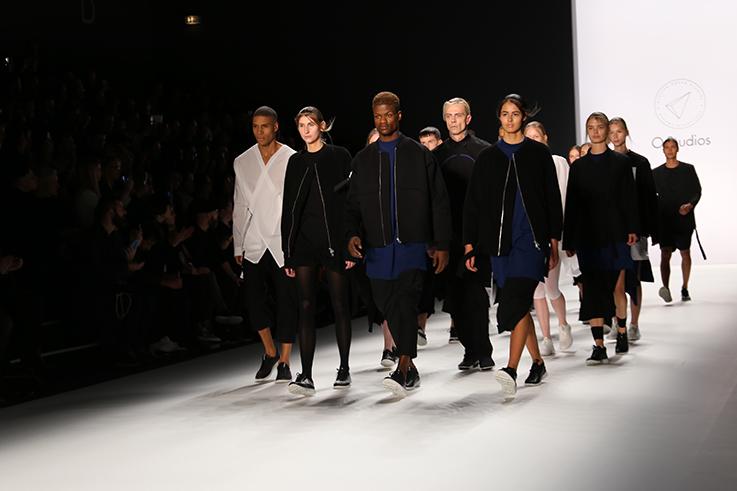 Backstage bei der Fashion Week: Odeur Fashionshow mit Ecco Shoes
