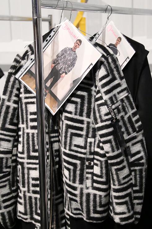 Backstage Fashion Week Berlin Januar 2016 MBFWB Odeur Fashion show Ecco Shoes Jacke