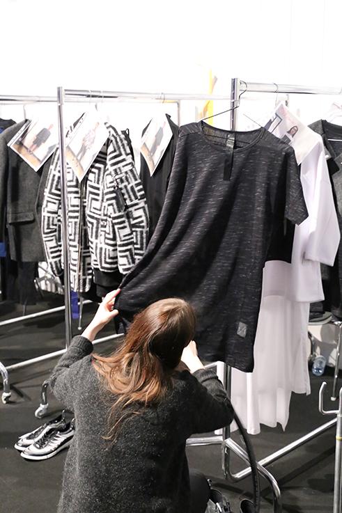 Backstage Fashion Week Berlin Januar 2016 MBFWB Odeur Fashion show Ecco Shoes Styling