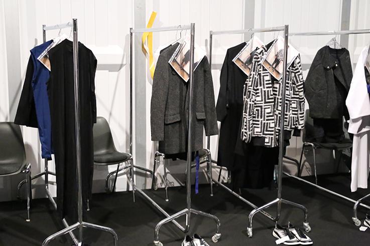 Backstage Fashion Week Berlin Januar 2016 MBFWB Odeur Studios Fashion show Ecco Shoes