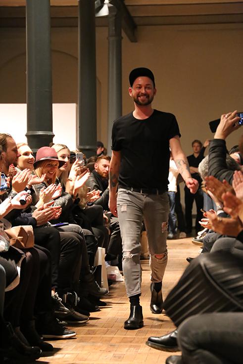 Marcel Ostertag Fashionshow Rain Herbst : Winter 2016 Januar Fashion Week Berlin Designer Location