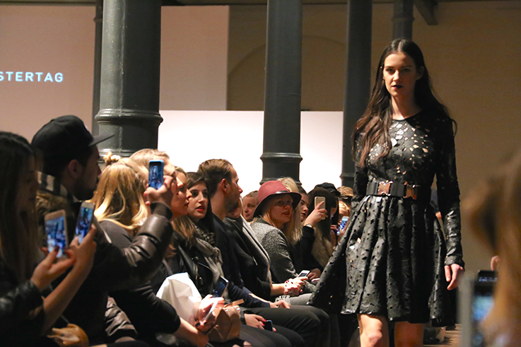 Marcel Ostertag Fashionshow Rain – Fashion Week 2016