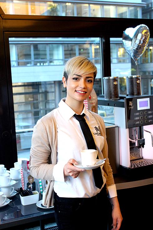 Alba Moda Blogger Brunch Hilton Berlin MBFW Blogger Event Modeblog Cafe Royal Kaffee