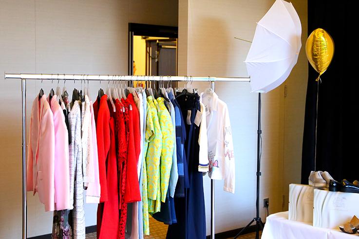 Alba Moda Blogger Brunch Hilton Berlin MBFW Blogger Event Modeblog Influencer Kleiderstange