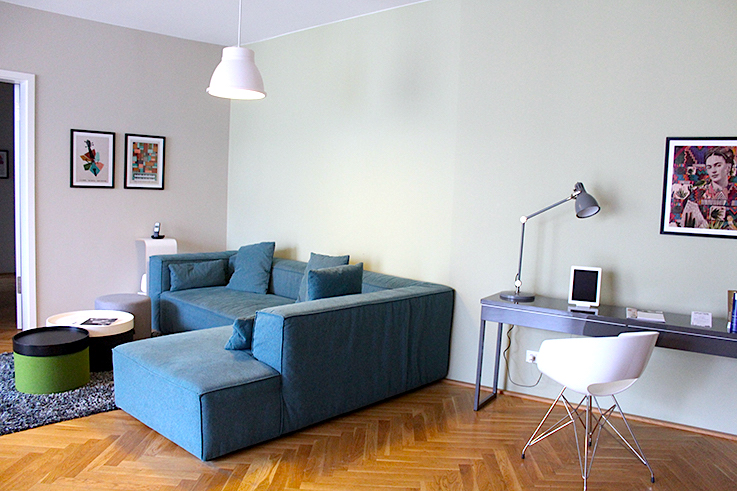Blogger Apartment Berlin Fashion Week Circus Apartments Interior Innendesign Sofa