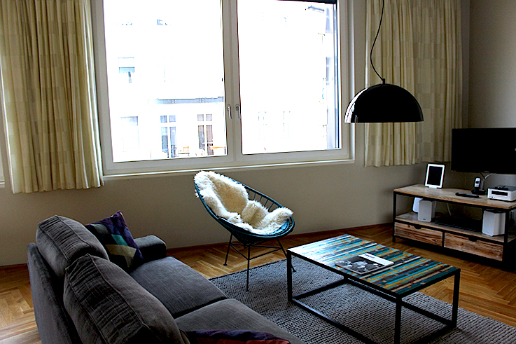 Blogger Apartment Berlin Fashion Week Circus Apartments Interior Innendesign skandinavisch stuhl