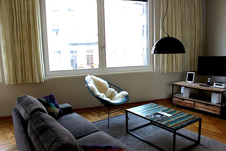 Blogger Apartment Berlin Fashion Week Circus Apartments Interior Innendesign skandinavisch stuhl