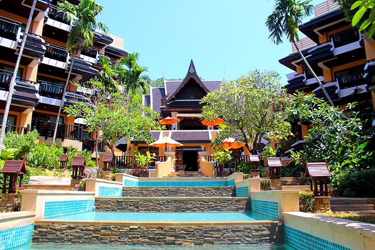 Amari Vogue Krabi Thailand Rundreise Luxushotel Hotelbericht Review Reiseblog Hotelanlage