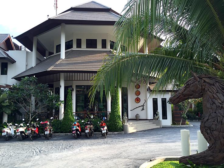 Navatara Phuket Resort Hotel Thailand Hotelbericht Reiseblog Außenansicht T