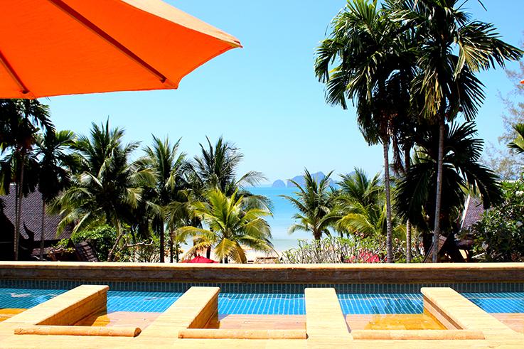 Pool Traum Aussicht Amari Vogue Krabi Thailand Luxushotel Hotelbericht Review Reiseblog