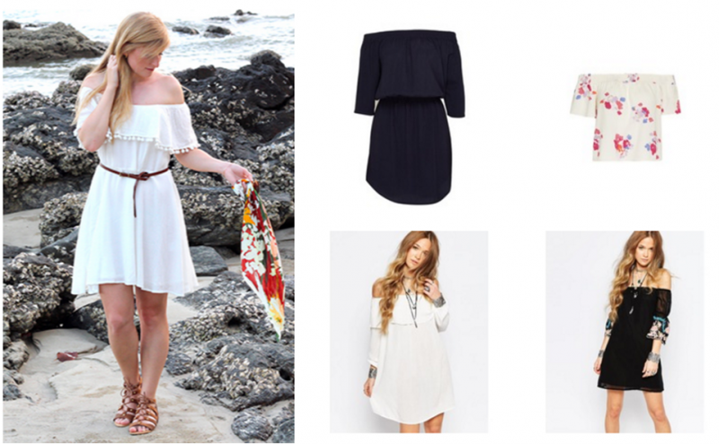 Sommer-Trend Off-Shoulder Kleider & Shirts | Shopping Inspiration