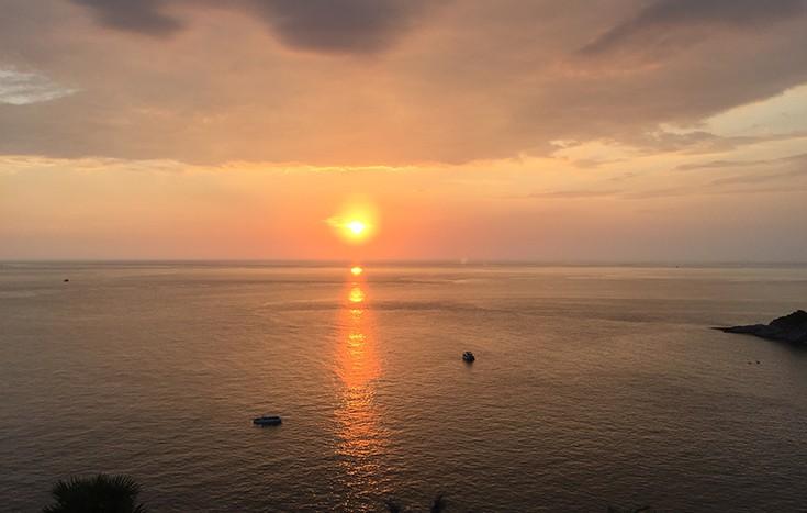 Top 10 Thailand Reise Tipps Sonnenuntergang Phuket Sunset Viewpoint traumhaft JPG