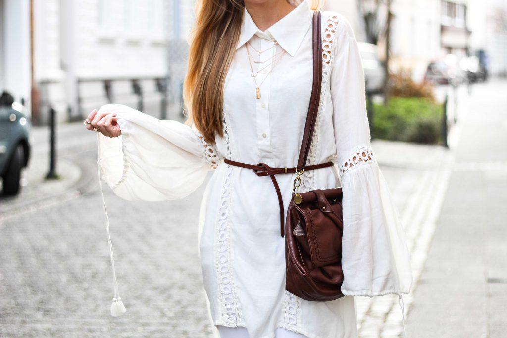 All White Outfit – Helle Farben für den Frühling