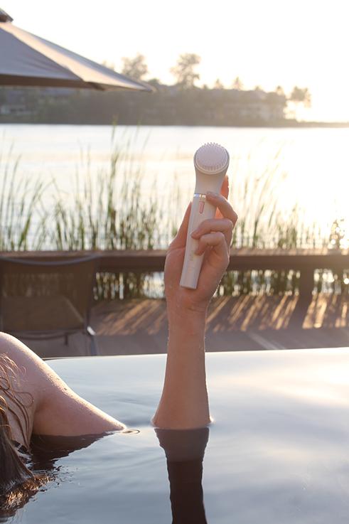 Braun FaceSpa Sensitive Beauty Haut Hautpflege Beautyblog Sonnenuntergang Urlaub 3