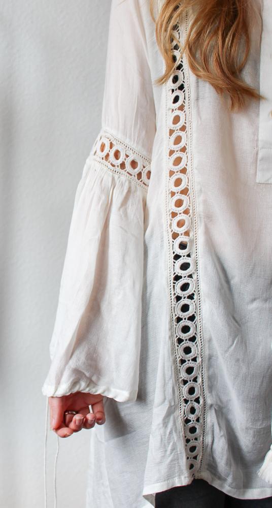 Frühlingstrend Blusen Blusentrend Fashion Blog Tunika Bluse