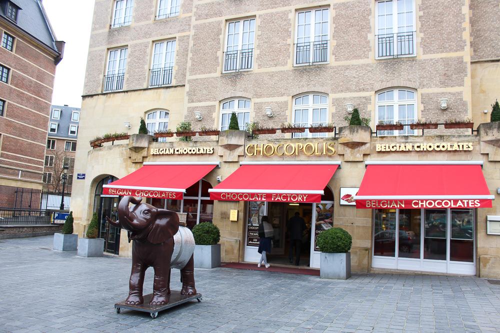 Reiseblog Brüssel Sightseeing Brüsseler Schokolade Sehenswürdigkeit