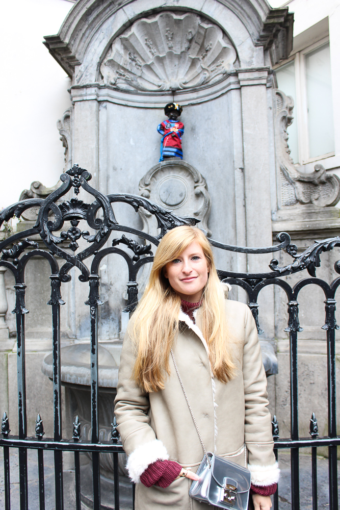 Reiseblog Brüssel Sightseeing Sehenswürdigkeit Manneken Pis