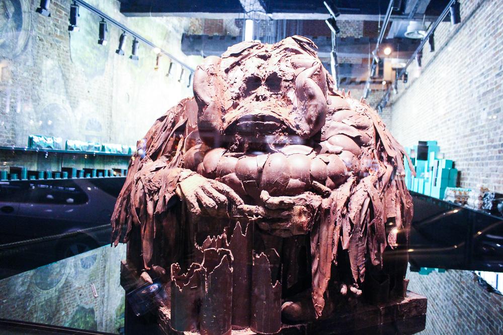 Reiseblog Brüsseler Schokolade Schoko-Affe