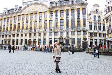 Reiseblog Brüssel Sightseeing Architektur Grand Place Sehenswürdigkeit BrinisFashionBook