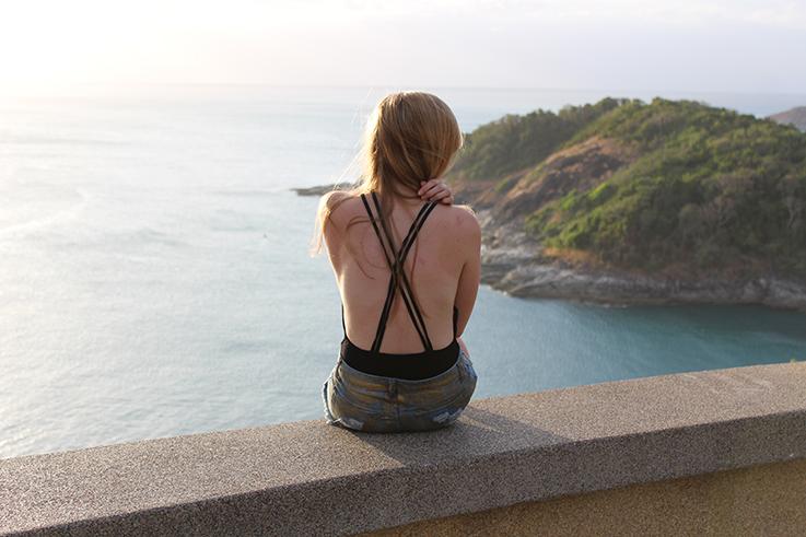 Sunset Viewpoint Thailand Rundreise Phuket Sightseeing Modeblog Outfit