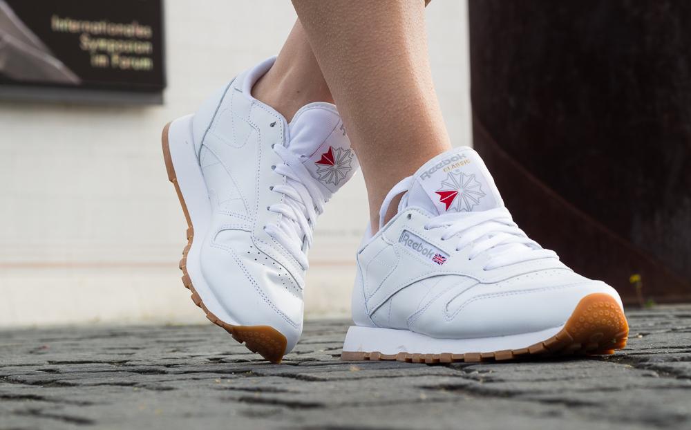Weiße Sneaker kombinieren Reebok Classic Leather Kendrick Lamar Trend 31