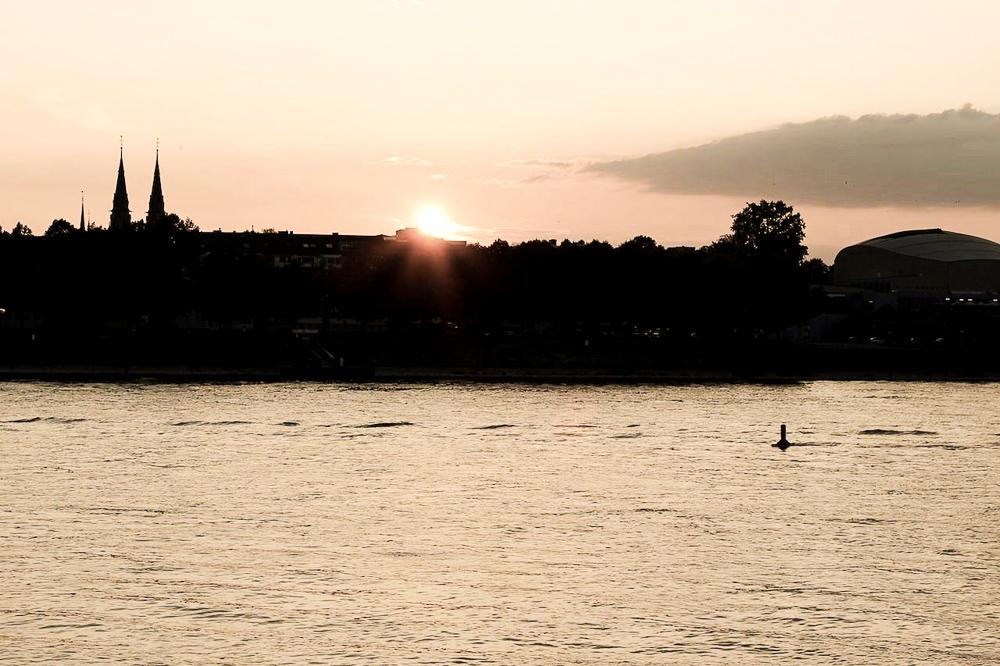Blogger Bonn Modeblog Sonnenuntergang Rhein Bonn 6